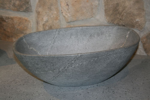 Soapstone Vessel Sink : Bucks County Soapstones Vessel bowl sinks