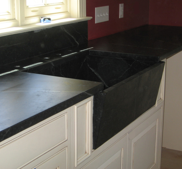 Soapstone Sink : Bucks County Soapstones Pieced Sinks